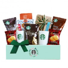 Starbucks Evergreen Holiday Gift Box