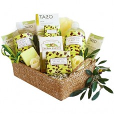 Cucumber Olive Oil Spa Gift Basket