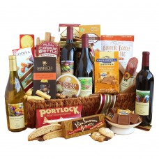 California Signature Luxury Wine Basket