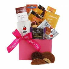 Cookies and Tea Mothers Day Gift Box
