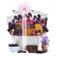 Godiva Deluxe Mother's Day Gift Basket